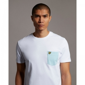 Contrast Pocket t-shirt logo