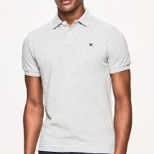 SLIM FIT POLO logo
